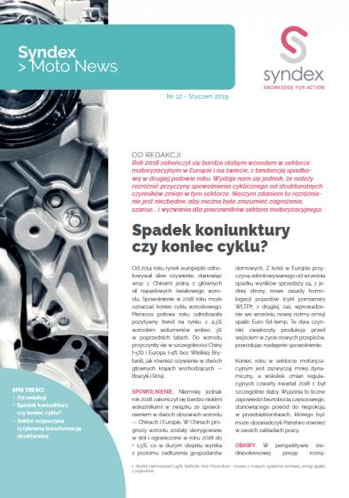 Pobierz Syndex Moto-News nr 12 !